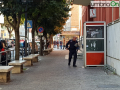Carabinieri-via-Primo-Maggio-valigia-trolley-allarme