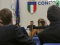 Franco Frattini durante l'udienza di venerdì