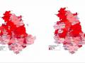 mappe-incidenza-perugia-terni-covi-25-febbraio-COVID