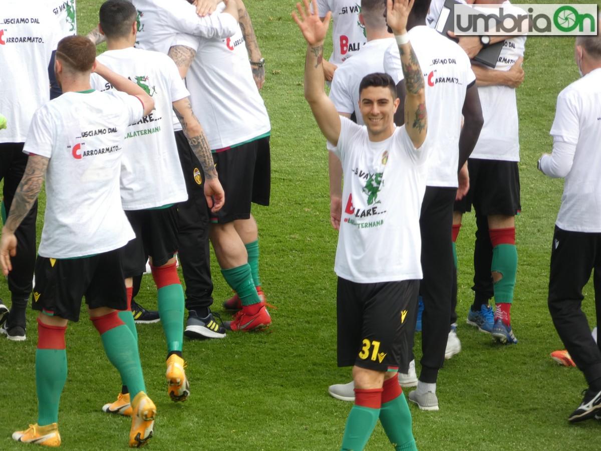 Ternana-festa-promozione-rossoverde-Fere-Avellino-Lucarelli-esultanza-magli