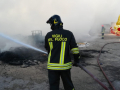 Incendio Biondi Recuperi 7 vvf
