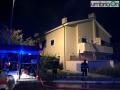 Via Arroni esplosione vvf vigili del fuoco 565656