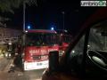Via degli Arroni incendio esplosione appartamento 454 vigili del fuoco 115