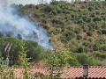 Incendio-Monte-Argento-papigno-boschivo