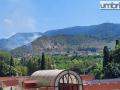 incendio-Papigno-Monte-Argento-fiamme-fuoco