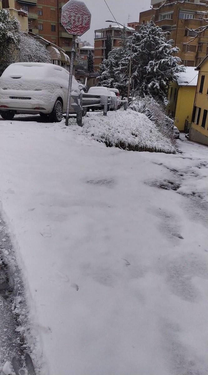 Neve Perugia Burian - 13 febbraio 2021