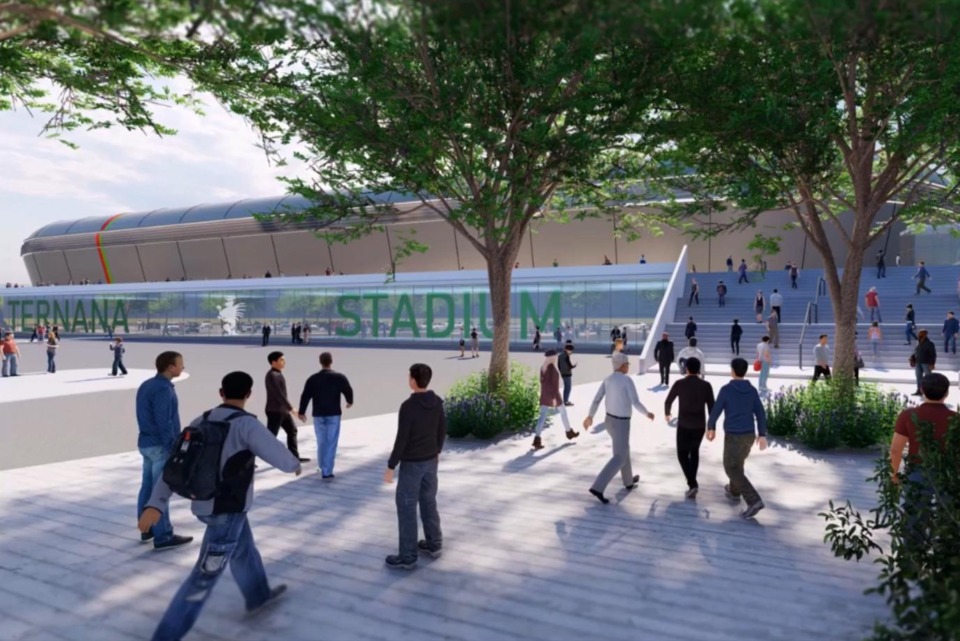 ternana progetto dati generali stadio fattibilità stadium accesso