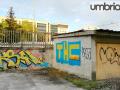 Perugia droga dietro la stazione Fontivegge