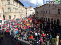Manifestazione Perugina Nestlé 7 ottobre matteotti