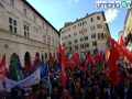 Nestlé Perugina manifestazione lavoro 7 ottobre4
