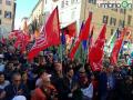 Perugina Nestlé piazza manifestazione 7 ottobre