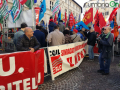 Perugina Nestlé piazza manifestazione 7 ottobre2
