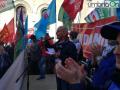 Perugina Nestlé piazza manifestazione 7 ottobre7