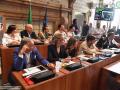 Prima seduta consiglio comunale, giunta Latini - 12 luglio 2018 (foto Mirimao) (101)