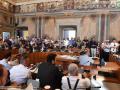 Prima seduta consiglio comunale, giunta Latini - 12 luglio 2018 (foto Mirimao) (104)