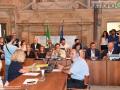 Prima seduta consiglio comunale, giunta Latini - 12 luglio 2018 (foto Mirimao) (36)