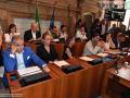 Prima seduta consiglio comunale, giunta Latini - 12 luglio 2018 (foto Mirimao) (48)
