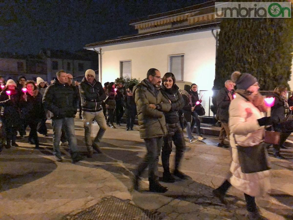 Processione-fiaccolata-San-Valentino-basilica-duomo-9-febbraio-2019-1