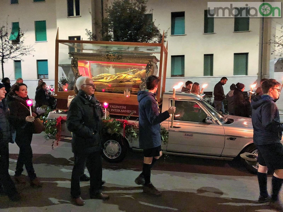Processione-fiaccolata-San-Valentino-basilica-duomo-9-febbraio-2019-3