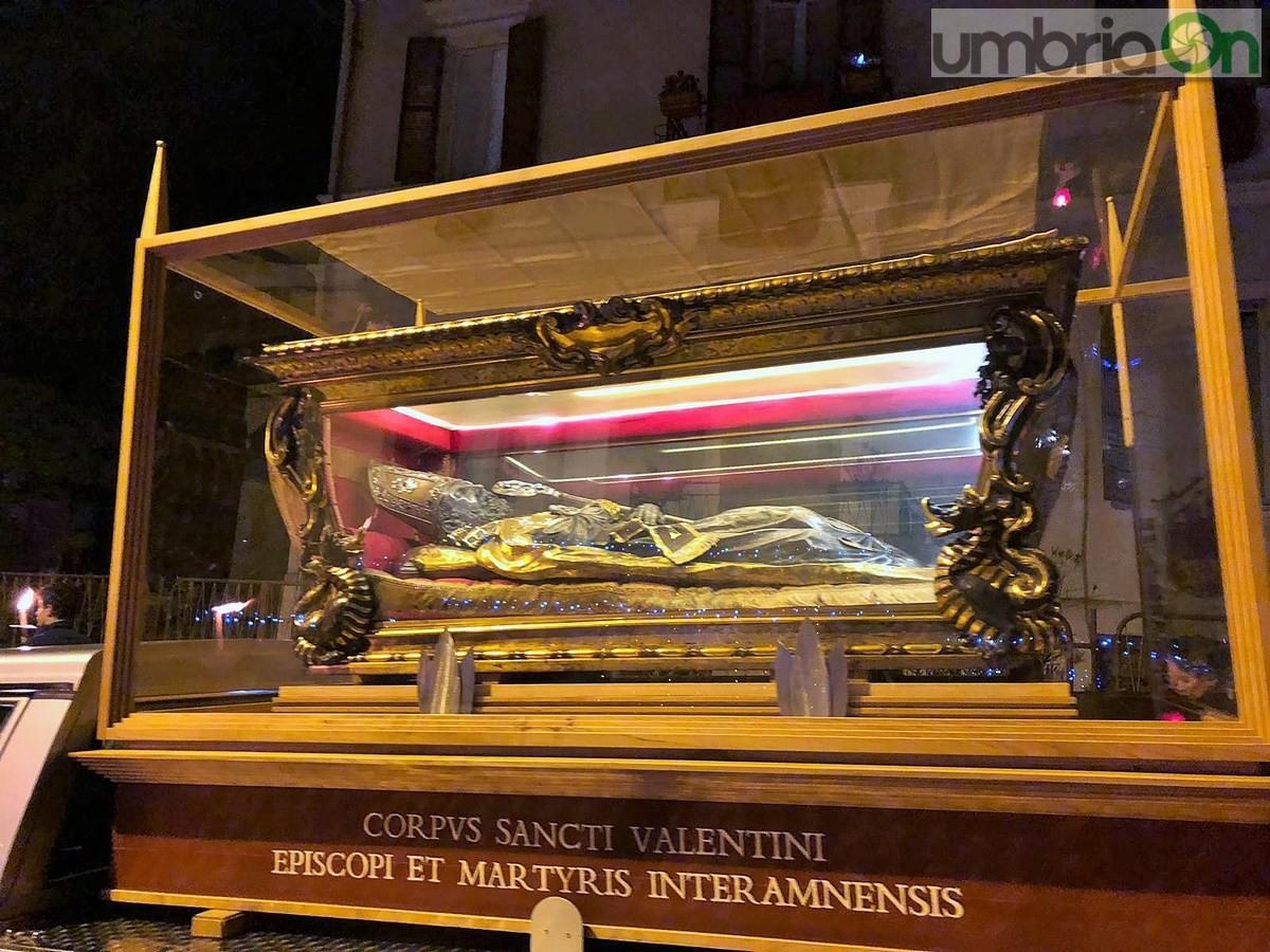 Processione-fiaccolata-San-Valentino-basilica-duomo-9-febbraio-2019-5