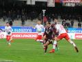 Salernitana - Perugia, Buonaiuto gol - 9 dicembre 2017 (foto Settonce)