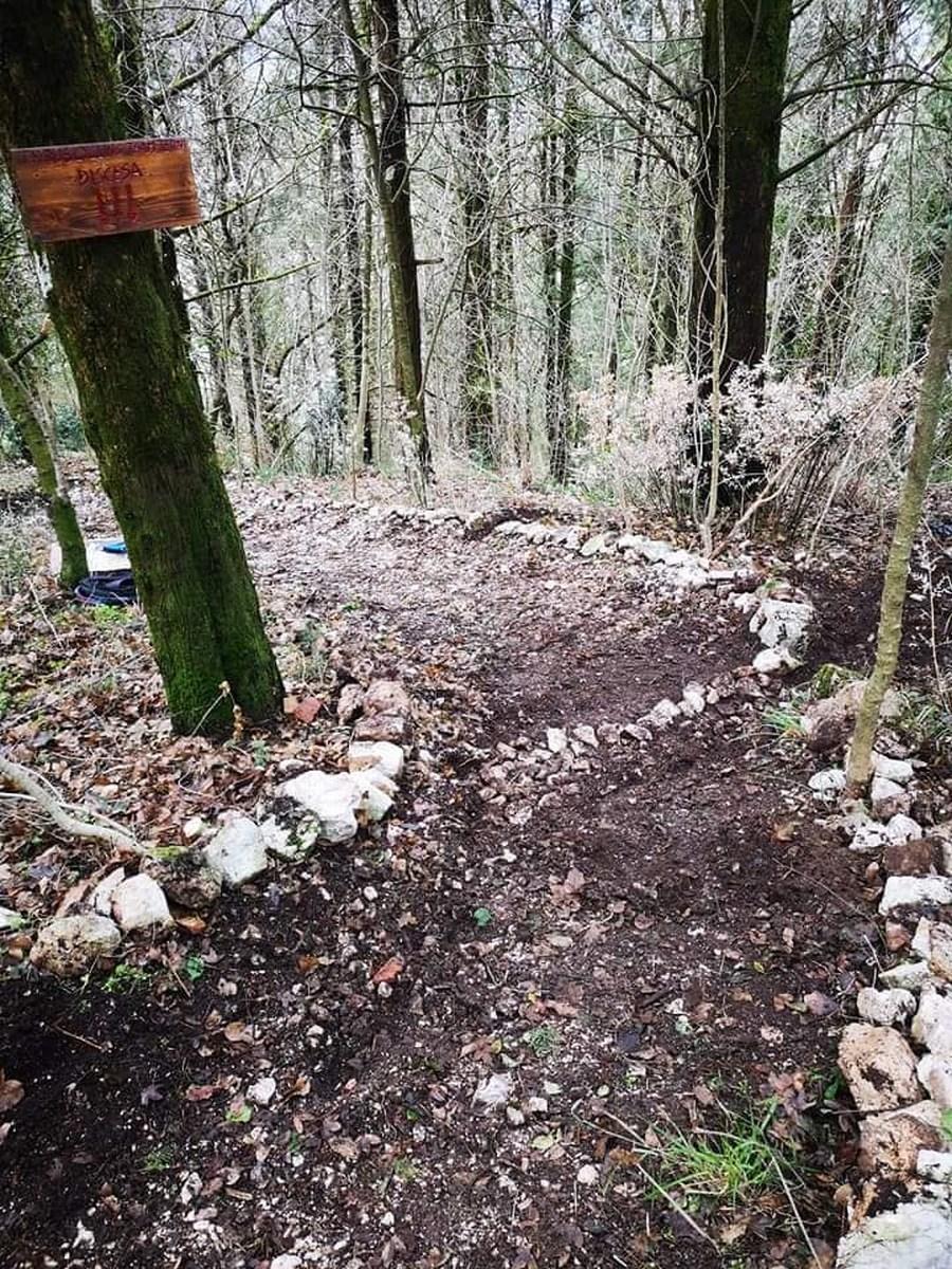 Thyrus Cycling Team sentieri Piediluco mountain bike - febbraio 2021 (5)