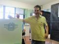 Terni, Emiliano Camuzzi vota - 10 giugno 2018