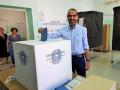 Terni, Leonardo Latini vota - 10 giugno 2018 (3)