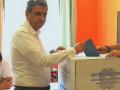 Terni, Mariano De Persio vota - 10 giugno 2018