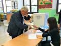 Terni, Paolo Angeletti vota - 10 giugno 2018 (1)