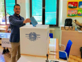 Terni, Piergiorgio Bonomi vota - 10 giugno 2018