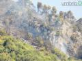 Incendio Rocca San Zenone, Valserra Terni - 9 agosto 2017 (2)