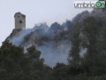 Rocca San Zenone incendio Terni martedì (FILEminimizer)