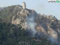 terni rocca san zenone incendio mercoledì (18)
