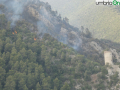 terni rocca san zenone incendio mercoledì (22)