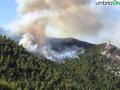 terni rocca san zenone incendio mercoledì (6)
