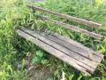 Rifiuti, degrado, sporcizia giardini pubblici via Monterotondo, Terni - 6 maggio 2017 (2)