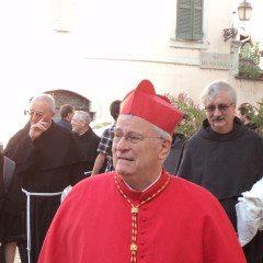 Calcio e beneficenza: c'è il cardinale Bassetti