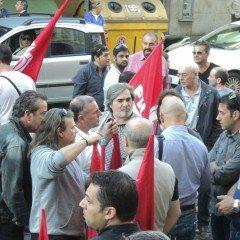 Politica e lavoro, sit-in a Perugia