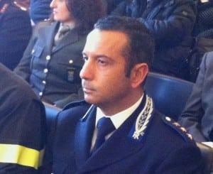 Il comandante Fabio Gallo