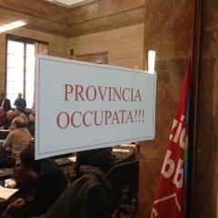 «Governo e Regione agiscano su Province»