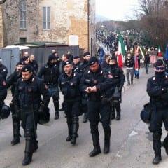 La Rete antifascista ternana contro Casapound