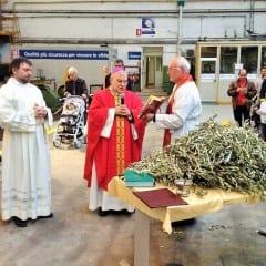 Tk-Ast, c'è il vescovo: «Lavorare in armonia»