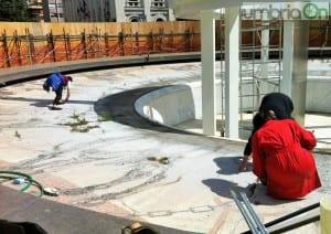 Fontana piazza Tacito, sopralluogo e riunione con Soprintendente Gizzi - 23 aprile 2015 (12)