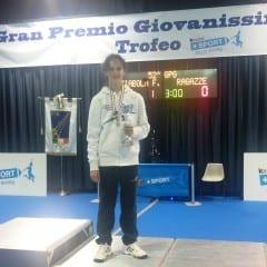 Scherma, Guarino sul podio al 'Nostini'
