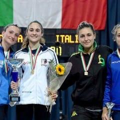 Scherma, successo Lucarini in Coppa Italia