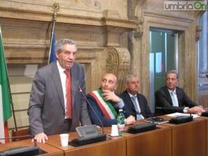 La conferenza di presentazione del protocollo d'intesa