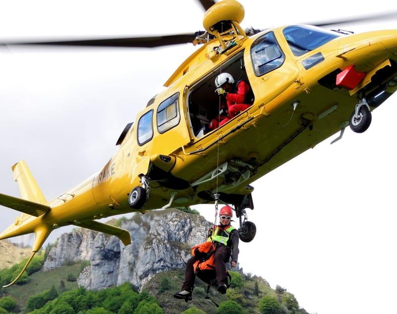 Elicottero Incidente : Incidente a nocera motociclista ferito umbriaon