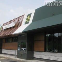 McDonald's Terni, tempo di 'restyling'