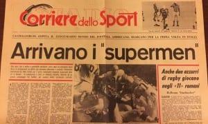 La pagina de Il Corriere dello Sport per il campionato italiano del 1980